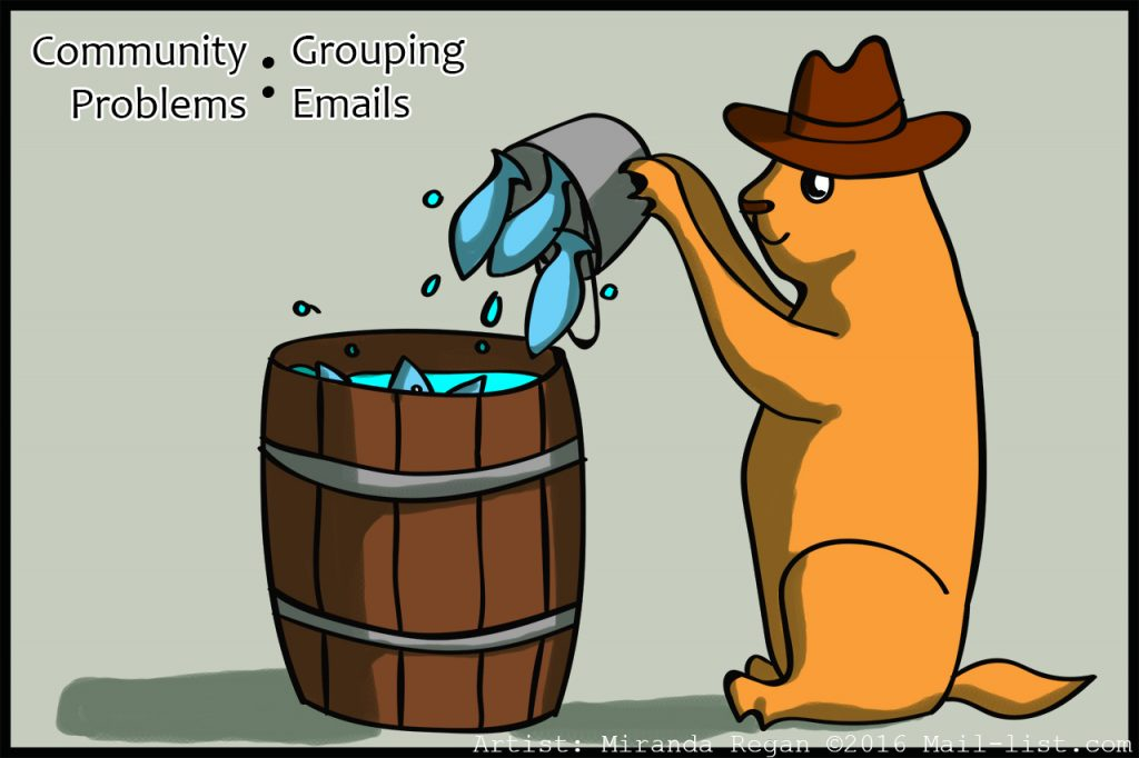 how to create group mailing list in outlook