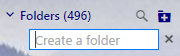 name a folder in yahoo mail